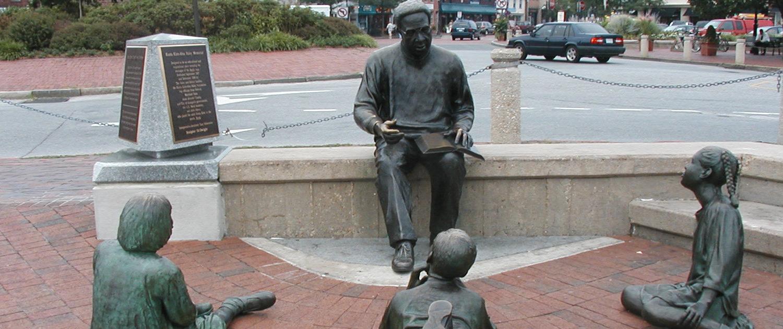 Alex Haley Sculpture