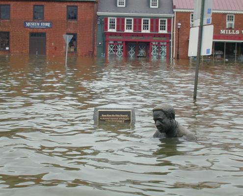 Hurricane Isabel & The Memorial