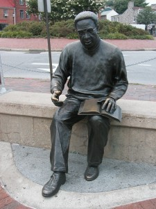 Alex Haley Sculpture
