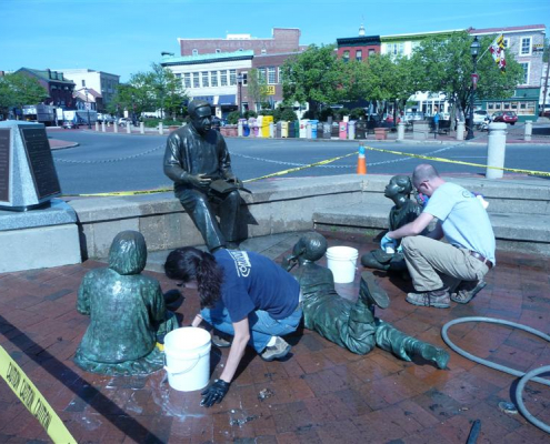 Kunta Kinte-Alex Haley Memorial Spring Cleaning