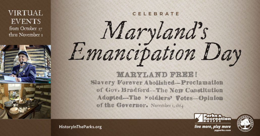 Celebrate Maryland Emancipation 2020