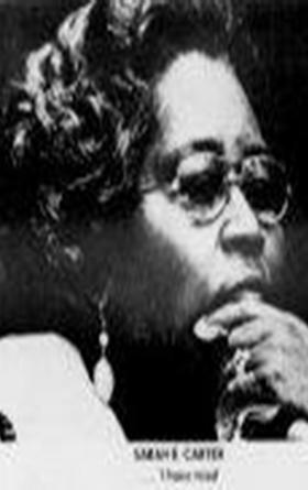 Sarah E. Carter